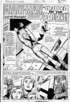 AYERS, DICK - Tales To Astonish #53 2-up pg 1 splash, Giant Man, Wasp Comic Art