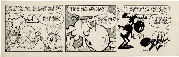 KILGORE, AL - Rocky and Bullwinkle Daily 5-24 1965 Comic Art