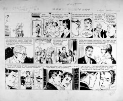 GRAFF, OTTO - Willis Barton Sunday 1959 Comic Art