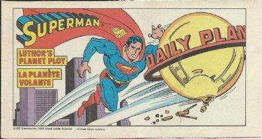 DELBO, JOSE ? - Superman premium Comic Book, Canadian Post,  Comic Art