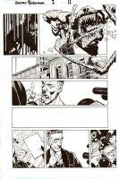BACHALO, CHRIS / TOWNSEND - Dark Reign: Sinister Spider-Man #1 pg 11, Venom & JJJ Comic Art
