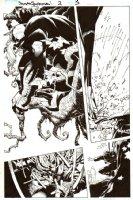 BACHALO, CHRIS / TOWNSEND - Dark Reign: Sinister Spider-Man #2 pg 5, large Venom Comic Art