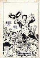 STATON & PATTERSON - Green Lantern #188 published cover, Hal + John + Katma, 1st Alan Moore GL tale 1985 Comic Art
