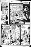 TOTLEBEN, JOHN / STAN WOCH - Swamp Thing #38 pg 10, Abby, 2nd appearance Constantine Comic Art