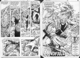 WOCH, STAN / RON RANDALL - Alan Moore's Swampthing #43 complete story, trippin' on ST Comic Art