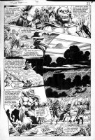 WOCH, STAN / ALFREDO ALCALA - Swamp Thing #49 pg 23, Swampy, Deadman, Phantom Stranger, Demon rhymes Comic Art