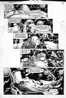 WOCH, STAN / ALFREDO ALCALA - Swamp Thing #49 pg 16, Swampy, Deadman, Phantom Stranger find Spectre  Comic Art