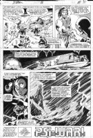 BYRNE, JOHN - Uncanny X-Men #116 last pg 31, X-Men, Kazar, Wolvie & Zabu say goodbye Savage Land Comic Art