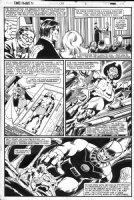 BYRNE, JOHN - Uncanny X-Men #138 pg, X-Men #54-56 recap 1st Havok & Sentinel Comic Art
