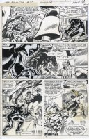 BYRNE, JOHN - Marvel 2 in One #55 pg 22, Project Pegasus - Thing, Nuklo, Black Goliath Comic Art