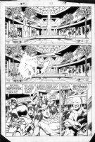 BYRNE, JOHN - Alpha Flight #27 pg 9, Team face original leader  Comic Art