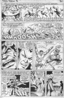 EVERETT, BILL & ROSS ANDRU - Marvel Feature #3 last page, w/all 3 heroes, Third DEFENDERS Comic Art