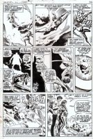 EVERETT, BILL / DON HECK - Amazing Adventures #8 last pg - Black Widow final solo story Comic Art