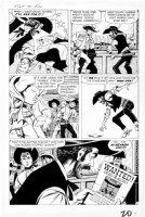 EVERETT, BILL - Kid Colt Outlaw #90  Desperado  2up pg 3, Marvel/Atlas, 1960 Comic Art