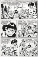 BUSCEMA, SAL - Incredible Hulk #252 page 21, guest superhero Woodgod bids Hulk and his entire regular cast farewell Comic Art