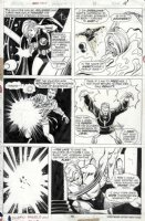 BUSCEMA, SAL - Marvel Team Up #35 pg, Human Torch, Valkyrie, Doc Strange Comic Art