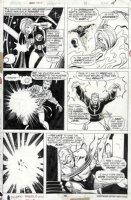 BUSCEMA, SAL - Marvel Team Up #35 pg, Human Torch, Valkyrie, Doc Strange Comic Art