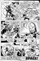 BUSCEMA, SAL - Nova #6 page 31, last page- full cast Comic Art