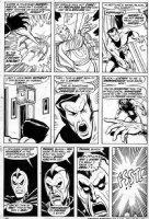 BUSCEMA, SAL - Defenders #6 pg 26, Dr Strange, Sub-Mariner 1973 Comic Art