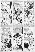 BUSCEMA, SAL - Defenders #8 pg 21, Defenders & Hawkeye vs Red Ghost & Atuma Comic Art