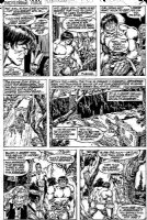 BUSCEMA, SAL - Incredible Hulk #217 pg 7 Hulk & circus freaks Comic Art