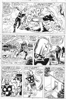 BUSCEMA, SAL - Nova #10 pg 3, Nova beats Firefly 1977 Comic Art