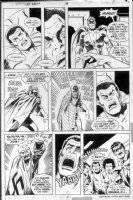BUSCEMA, SAL - Captain America #188 pg 7, Sam envisions Nomad to Capt America to Red Skull Comic Art
