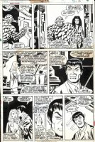 BUSCEMA, SAL - Marvel 2-in-One #19 pg 16, Thing & early Tigra Comic Art