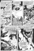 BUSCEMA, SAL - Avengers #88 pg 5 - Cap & Falcon - Harlan Ellison classic Hulk story Comic Art