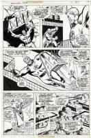 BUSCEMA, SAL - Marvel 2-in-One Annual #1 pg 19, Liberty Legion: Red Raven / Whizzer / Miss America / Jack Frost / Blue Diamond vs Master Man 1976 Comic Art