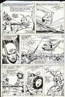 BUSCEMA, SAL - Incredible Hulk #250 pg 8, Silver Surfer & board saves baby seals Comic Art