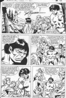 BUSCEMA, SAL - Hulk #230 pg 21, Hulk, Ross, Wood-God, Doc Samson Comic Art
