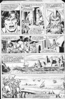 BUSCEMA, SAL / ERNIE CHAN - John Carter, Warlord of Mars Annual #1 pg 14 adapts 2 ERB novels Comic Art