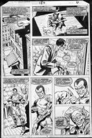 ANDRU, ROSS - Amazing Spiderman #180 pg 6, 1st  Harry Osborne as hero Green Goblin Comic Art