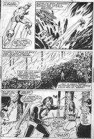 George Tuska - Iron Man #52 page 15, Iron Man vs Raga, Son of Fire Comic Art