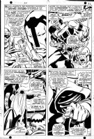 BUSCEMA, JOHN - Avengers #54 page 26, first Ultron. First page with Ultron and Avengers appearing together! Comic Art