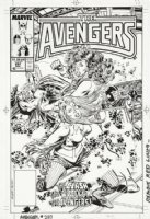 BUSCEMA, JOHN - Avengers #297 cover, Thor, She-Hulk vs Nebula Comic Art