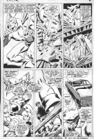 BUSCEMA, JOHN - Avengers #77 pg 3, Vision & Goliath in action Comic Art