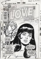 BUSCEMA, JOHN - Our Love Story #13 cover, giant-size issue, classic pop art Comic Art