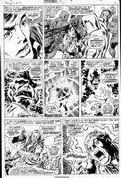 BUSCEMA, JOHN - Avengers #97 pg 16, Rick Jones, Ronan the Accuser, Kree Supreme Intelligence & missing Skrull Comic Art