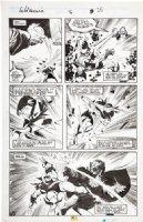 BUSCEMA, JOHN / BILL SIENKIEWICZ - Wolverine #16 pg 25 Comic Art