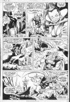 BUSCEMA, JOHN - Thor #211 pg 5, Thor, troll queen Comic Art