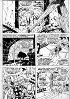 BUSCEMA, JOHN - Thor #213 pg 15, Thor, Colonizer, Hilde Comic Art