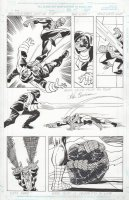 BUSCEMA, JOHN - Amazing Spiderman Annual 1999 pg 35, Spider-Man vs Trapster Comic Art