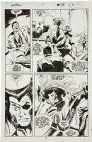 BUSCEMA, JOHN / BILL SIENKIEWICZ - Wolverine #11 pg 29, Wolvie as Patch Comic Art