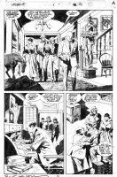 BUSCEMA, JOHN / BILL SIENKIEWICZ - Wolverine #11 pg 16, Wolvie as Patch Comic Art