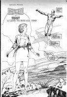 WINDSOR-SMITH, BARRY - Death Mate prologue Valiant pg 1 splash, Doctor Solar Comic Art