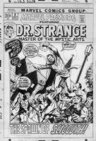 WINDSOR-SMITH, BARRY - Marvel Premiere #4 cover, second Dr Strange issue  Comic Art