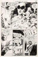 WRIGHTSON, BERNI - Spectre #9 pg 7 - half splash, Spectre sees army crushed Comic Art