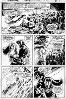 WRIGHTSON, BERNI - Swamp Thing #3 pg 9, Matt, 1st Abby Arcane Comic Art